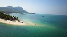 Aerial View Koh Mook Island, Thailand stock video