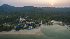 Aerial view of koh payam island ranong southern of thailand Stock Images