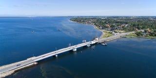 Aerial view of Kronprins Frederiks bridge, Denmark Stock Images