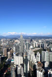 Aerial view of Kuala Lumpur city from KL Tower - Series 2 Stock Image