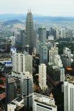 Aerial view of Kuala Lumpur Stock Image