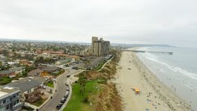 Aerial view of La Jolla Beach, California Stock Image
