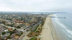 Aerial view of La Jolla Beach, California Stock Photos