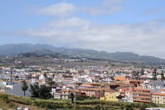 Aerial view of La Laguna, Tenerife Spain Royalty Free Stock Images