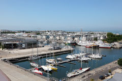 Aerial view of La Rochelle, France Royalty Free Stock Image