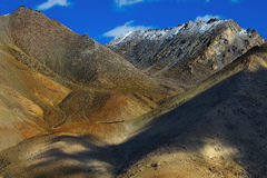 Aerial view of ladakh landscape Stock Images