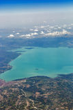 Aerial view of Lake Beysehir in Turkey Stock Photography