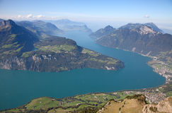 Lake Luzern Royalty Free Stock Photography