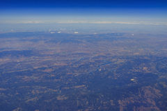 Aerial view of Lake Nacimiento Stock Photography