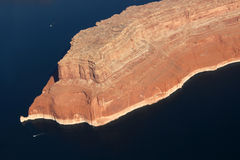 Aerial View of Lake Powell Stock Images