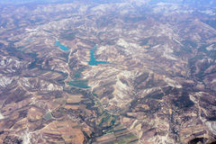 Aerial View of Landscape Royalty Free Stock Images