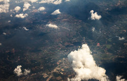 Aerial view of landscape Royalty Free Stock Photography