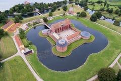 Aerial view of Landskrona Citadel, Sweden Stock Image
