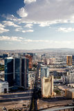Aerial view of Las Vegas Stock Photo
