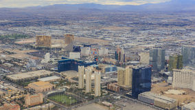 Aerial view of Las Vegas Royalty Free Stock Photography