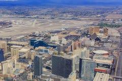 Aerial view of Las Vegas Stock Images