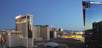 An Aerial View of Las Vegas Looking North Stock Photo