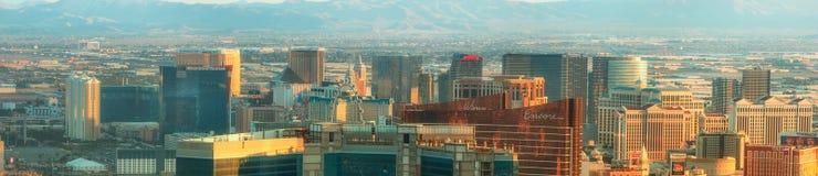 Aerial view of Las Vegas in Nevada. USA Stock Photos