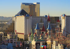 An Aerial View of the Las Vegas Strip Looking South Stock Images