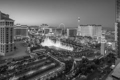 Aerial view of Las Vegas strip in Nevada Royalty Free Stock Photo
