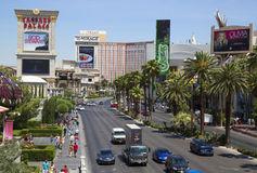 Aerial view of Las Vegas Strip Royalty Free Stock Images