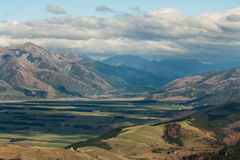 Aerial view of Lewis Pass Royalty Free Stock Photography