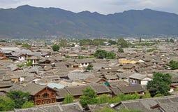 Aerial view of Lijiang, China Stock Photos