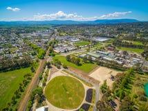 Lilydale - suburb of Melbourne. stock photos