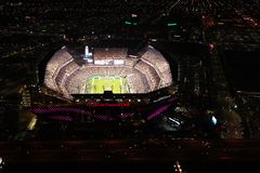 Aerial View Lincoln Financial Field Philadelphia PA royalty free stock images