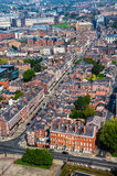 Aerial view of Liverpool. UK residential area Royalty Free Stock Photography