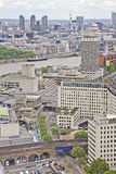 Aerial view of London. United Kingdom Royalty Free Stock Photography