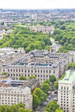 Aerial view of London with the Buckingham Palace. London, UK Stock Image