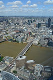 Aerial view of London. Stock Photos