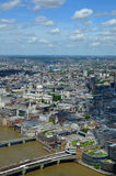 Aerial view of London. Stock Images
