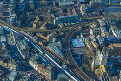 Aerial view of London cityscape Royalty Free Stock Photos