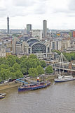 Aerial view of London, England Stock Image