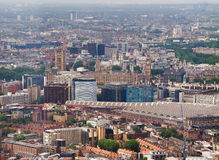 Aerial view of London Royalty Free Stock Photography
