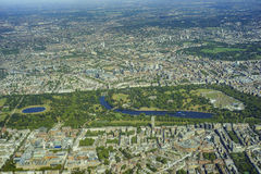 Aerial view of London Royalty Free Stock Images
