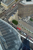 Aerial view of London from the Shard. Stock Image