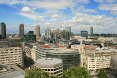 Aerial view of London from St. Paul's Cathedral Royalty Free Stock Photos