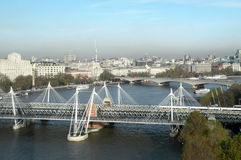 Aerial view on London Royalty Free Stock Photography