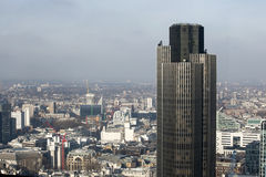 Aerial view of London from the Walkie Talkie building on 20 Fenchurch Street . Stock Images
