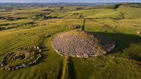 Loughcrew cairns. county Meath. Ireland stock images