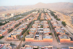 Aerial view on Luxor Stock Photography