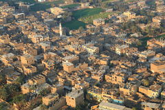 Aerial view of Luxor in Egypt Stock Image