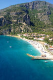 Aerial view on luxury resort and sea Stock Images