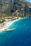 Aerial view on luxury resort and sea Stock Image