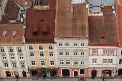 Aerial view of Lviv Royalty Free Stock Photos