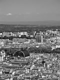 Aerial view of Lyon Stock Image