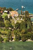 Aerial View Of Mainau Island royalty free stock photos